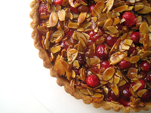 ... about cranberries i didn t this cranberry caramel and almond tart is