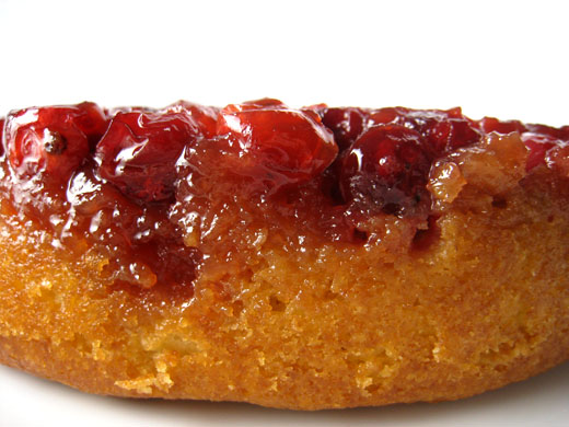 Alice Waters Cranberry Unside Down Cake