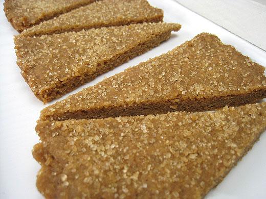 Lottie + Doof » Brown Butter Shortbread