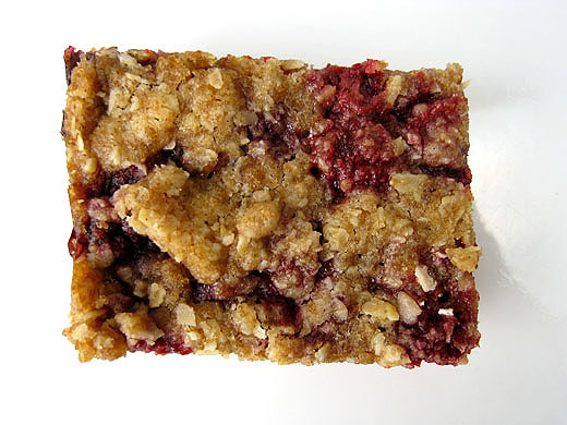 Lottie + Doof » Raspberry Breakfast Bars