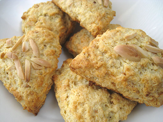 orange almond buttermilk orange almond scones orange almond scones i ...
