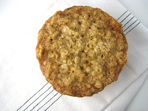 Thin and Crisp Oatmeal Cookies with Sea Salt (adapted from a Cook's ...