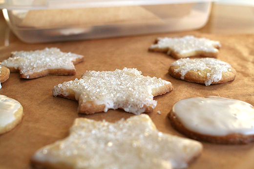 Lottie + Doof » 12 Days of Cookies: #12 Glazed Butter Cookies!