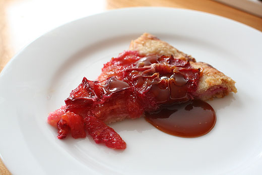 Blood Orange Tart (Recipe from Zoe Nathan via Food and Wine )