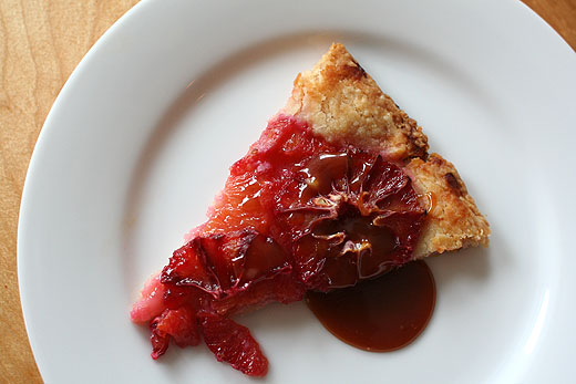 ... blood orange vinaigrette blood orange sherbet flaky blood orange tart