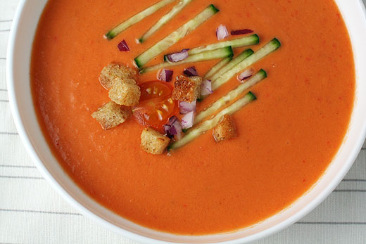 Spanish Gazpacho Recipe — Dishmaps
