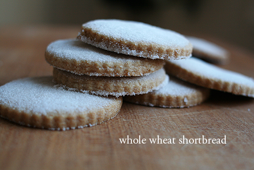 Lottie + Doof » Whole Wheat Shortbread Cookies