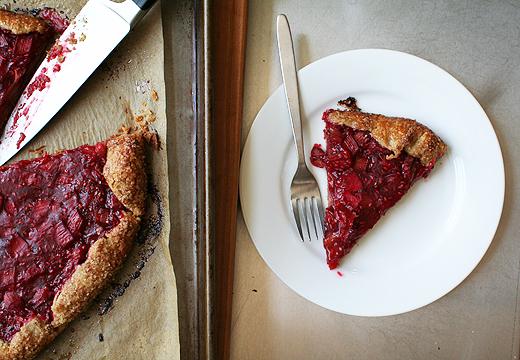 Lottie + Doof » Rhubarb and Raspberry Crostata
