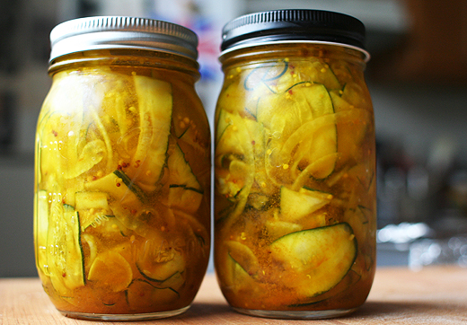 Zucchini Pickles (from the Zuni Cafe Cookbook by Judy Rodgers)