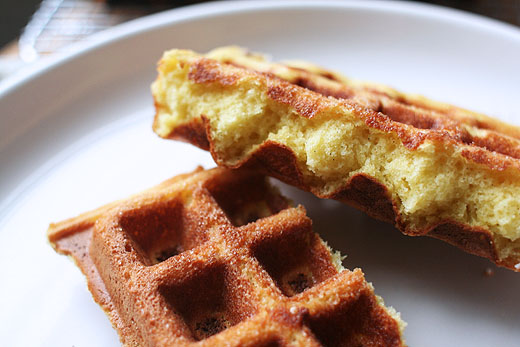 Liège Waffles (adapted slightly from The Blue Bottle Craft of Coffee ...