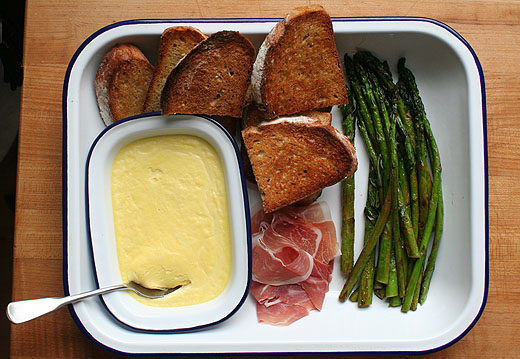 with pesto and prosciutto lemon panko parmesan asparagus asparagus ...