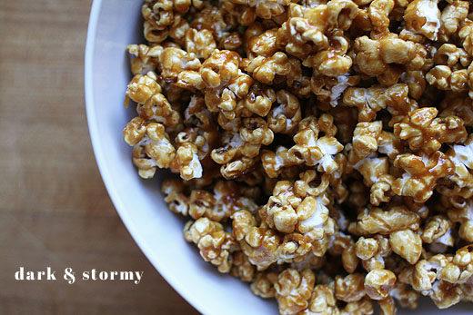 Dark & Stormy Caramel Corn