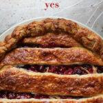 Cranberry + Sage Pie