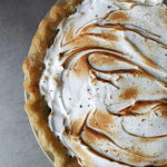 Black Pepper Grapefruit Meringue Pie