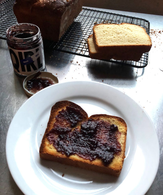 Lottie doof milk bread simply slice the loaf and wrap well you can take out a slice or two when you want them and toast from frozen breakfast is sorted forumfinder Choice Image